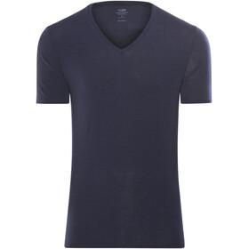 Icebreaker M's Anatomica SS V Shirt Midnight Navy